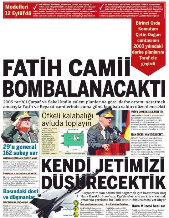 FATIH CAMII BOMBALANACAKTI_Taraf_20_Ocak_2010